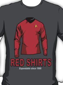 Star Trek - Expendable Red Shirts T-Shirt