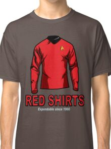 Star Trek - Expendable Red Shirts Classic T-Shirt