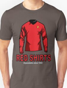 Star Trek - Expendable Red Shirts T-Shirt