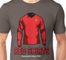 Star Trek - Expendable Red Shirts Unisex T-Shirt