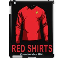 Star Trek - Expendable Red Shirts iPad Case/Skin
