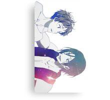 Swim Boys!  Galaxy Ver. Canvas Print
