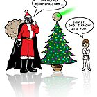 Vader Family Christmas by EJTees