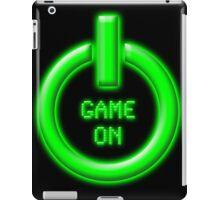 Game On - Power Button iPad Case/Skin