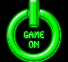 Game On - Power Button by EJTees