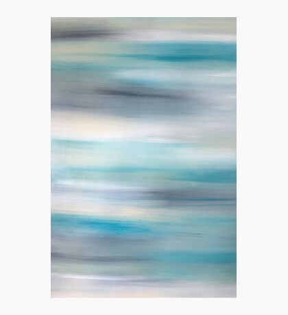 Cool tones Abstract  Photographic Print