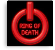 Ring of Death Canvas Print