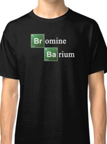 Bromine and Barium Periodic Table Chemistry Elements Classic T-Shirt