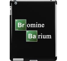 Bromine and Barium Periodic Table Chemistry Elements iPad Case/Skin