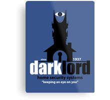 Dark Lord Home Security Systems Metal Print