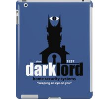 Dark Lord Home Security Systems iPad Case/Skin