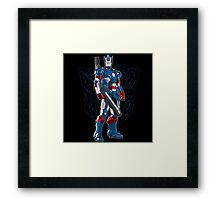 Optimus Patriot Framed Print