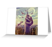 Sloth 3 Greeting Card