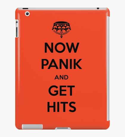 Now Panik and Get Hits iPad Case/Skin