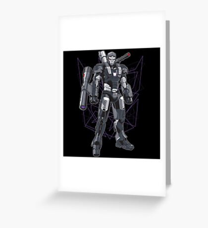 War Megatron Greeting Card