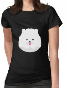Teacup Pomeranian  Womens Fitted T-Shirt