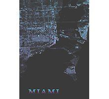 Miami, Retro special edition Photographic Print