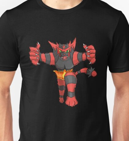 Incineroar by Derek W T-Shirt