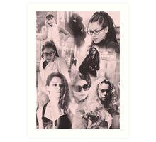 Orphan Black clones Art Print