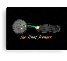 Galactica Trek Wars Canvas Print