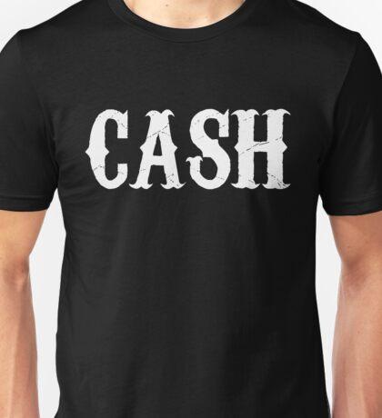 johnny cash man in black country rock pop icon folsom prison ring of fire rock lyrics cool t shirts Unisex T-Shirt
