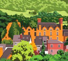Hay Castle, Herefordshire Sticker