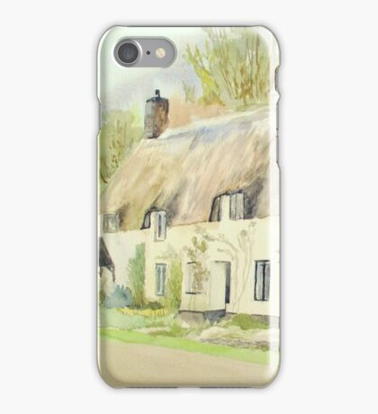 Picturesque Dunster Cottage iPhone Case/Skin