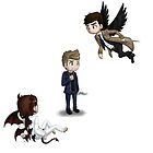 Team Free Will Chibis by KumoriDragon