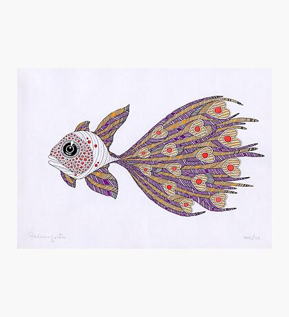 Fish of hearts  (original sold) Photographic Print