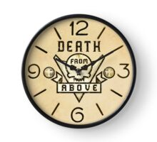 Starship Troopers Death from Above clock Clock