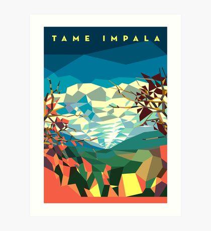 Landshape (poster variant) Art Print
