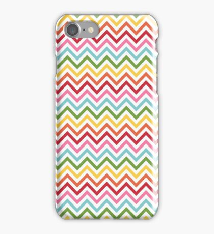 Rainbow Chevron #3 iPhone Case/Skin