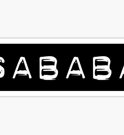 SABABA LIFE stickers Sticker