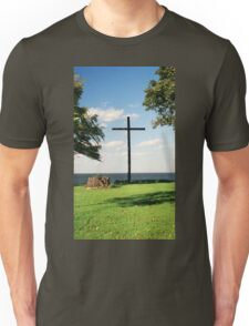 The Old Wooden Cross Unisex T-Shirt