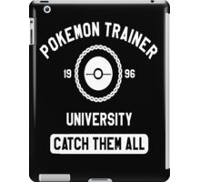 Pokemon university white iPad Case/Skin