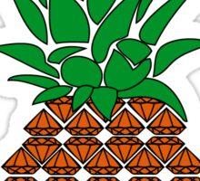 Diamonds Pineapple Sticker