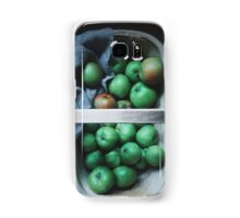 Apples in a basket Samsung Galaxy Case/Skin