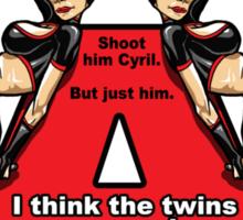 Archer - The Twins Sticker