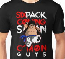 GOGETA'S GYM - six pack coming soon! Unisex T-Shirt