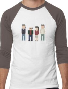 Seinfeld Cast Men's Baseball ¾ T-Shirt