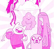 Adventure Time Pink Version by jeice27