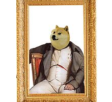 Sir Doge by Daniel Szabo