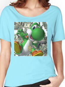 Gangster Yoshi Women's Relaxed Fit T-Shirt