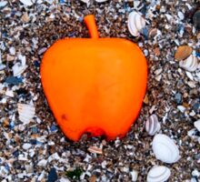 Apple on the Beach - part 2 Sticker