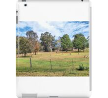 PHONOGRAPH: Kangaroos in the Bottom Paddock. iPad Case/Skin