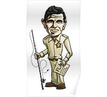 Andy Griffith - Sheriff Poster