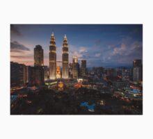 Petronas Towers By Night Baby Tee
