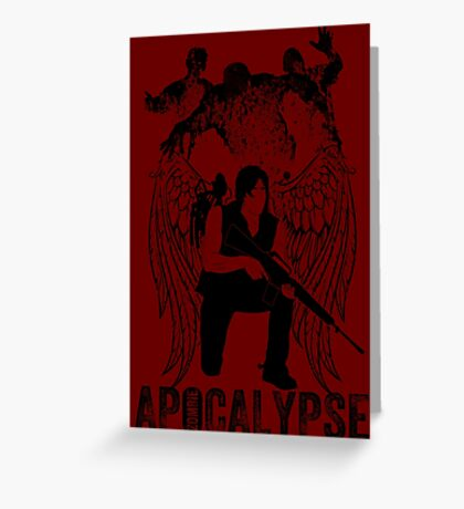 ZOMBIES APOCALYPSE Greeting Card