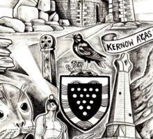 Cornwall Homage Sticker