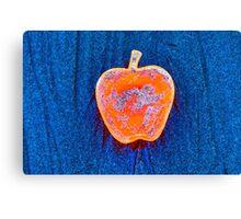Apple on the Beach - part 5 Canvas Print